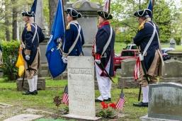 HVCSAR - Patriots Grave Marking - 14-May-2016 MISSAR Color Guard