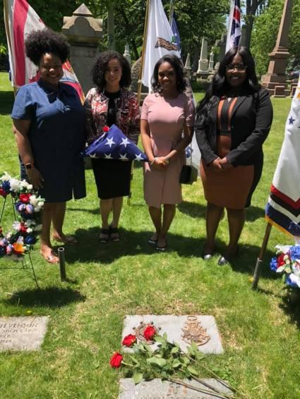 Grave after dedication
