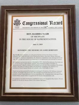 Representative Rashida Tlaib presented this Congressional Record of what she read on the floor of the U.S. House on June 11th, 2019.